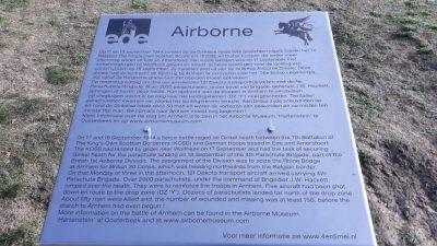 Pegasus Wandeltocht Gemeente Ede SRVV Airborne Monument Ginkelse Heide