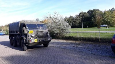Pegasus Wandeltocht Gemeente Ede SRVV Legervoertuigen