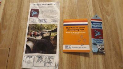 20. Pegasus Wandeltocht Vaantje, Wandelpaspoort en routekaart